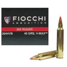 FIOCCHI AMMUNITION Ammunition 204HVB