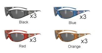GLOBAL VISION EYEWEAR Sunglasses SNIPER CF SM
