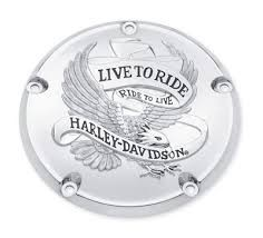 HARLEY DAVIDSON Motorcycle Part 25372-02 5 HOLE DERBY COVER