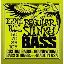 ERNIE BALL 2832 4-STRING BASS GUITAR STRINGS ROUNDWOUND CUSTOM GAUGE