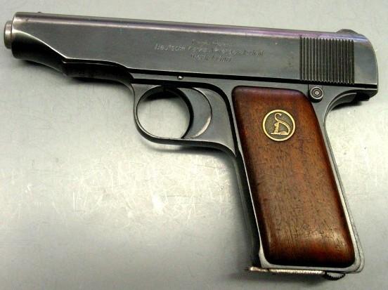 DEUTSCHE WERKE Pistol WERK ERFURT