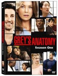 DVD GREYS ANATOMY SEASON ONE