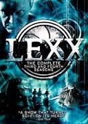 DVD BOX SET DVD LEXX SEASONS 3 & 4