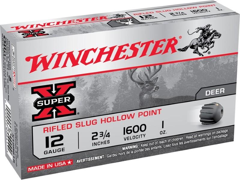 """WINCHESTER Ammunition 12GA 3"""" SLUG HP 10Z"""