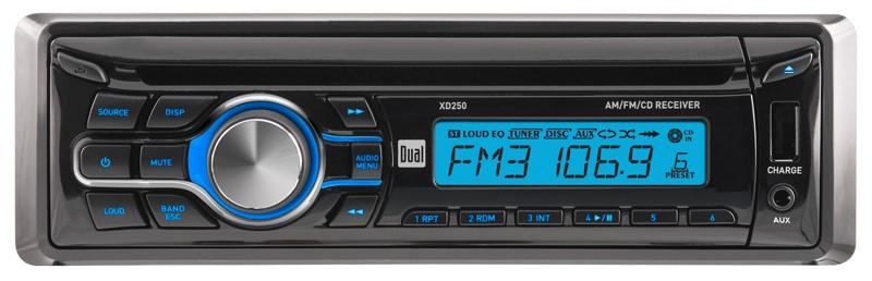 DUAL Car Audio XD250