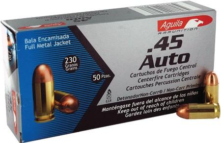 AGUILA AMMO Ammunition .45 AUTO 230 GR
