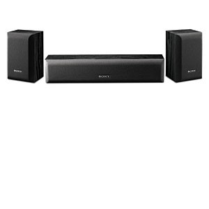 SONY HOME THEATER SPEAKER SYSTEM, 2.1 CHANNELS,120W MAX POWER, BLACK