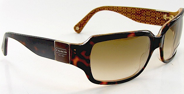 Coach Sunglasses Delphine S443 S 443 Tortoise Sunglasses