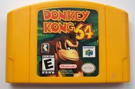 NINTENDO Nintendo 64 Game DONKEY KONG 64