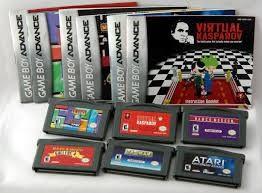 NINTENDO Vintage Game GAMEBOY ADVANCED GAMES