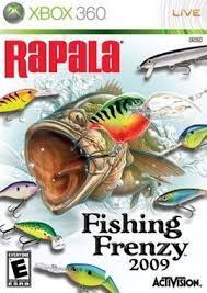 MICROSOFT Microsoft XBOX 360 Game RAPALA FISHING FRENZY 2009