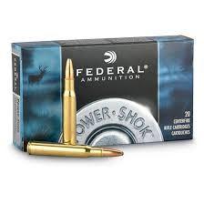 FEDERAL AMMUNITION Ammunition 308A