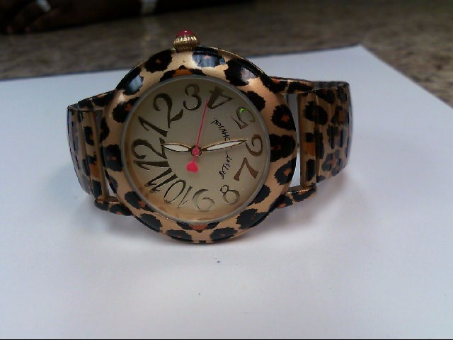BETSEY JOHNSON Lady's Wristwatch BJ0058-02
