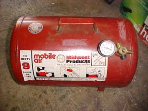 MIDWEST PRODUCTS Air Tank MOBILE AIR