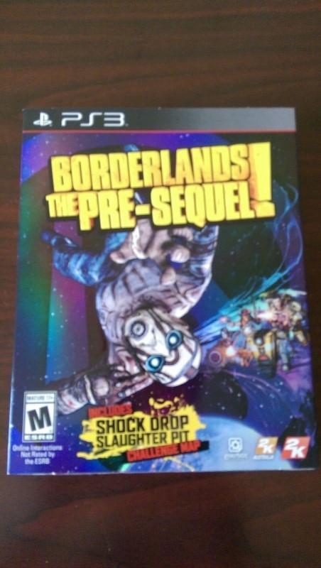 XBOX 360 BORDERLANDS: THE PRE-SEQUEL
