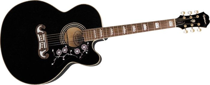 EPIPHONE Acoustic Guitar EJ-200CE