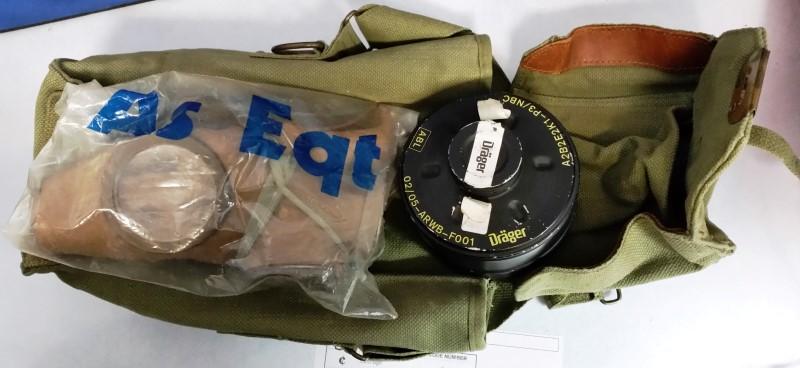 RUSSIA Military Memorabilia GAS MASK