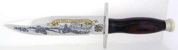 HARLEY DAVIDSON Hunting Knife BLACK HILLS COMMEMORATIVE KNIFE
