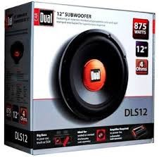 DUAL ELECTRONICS Car Speakers/Speaker System DLS12
