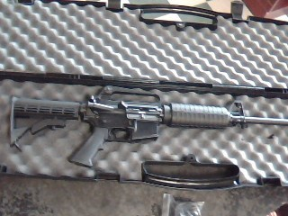 OLYMPIC ARMS Rifle PPC-6.5G