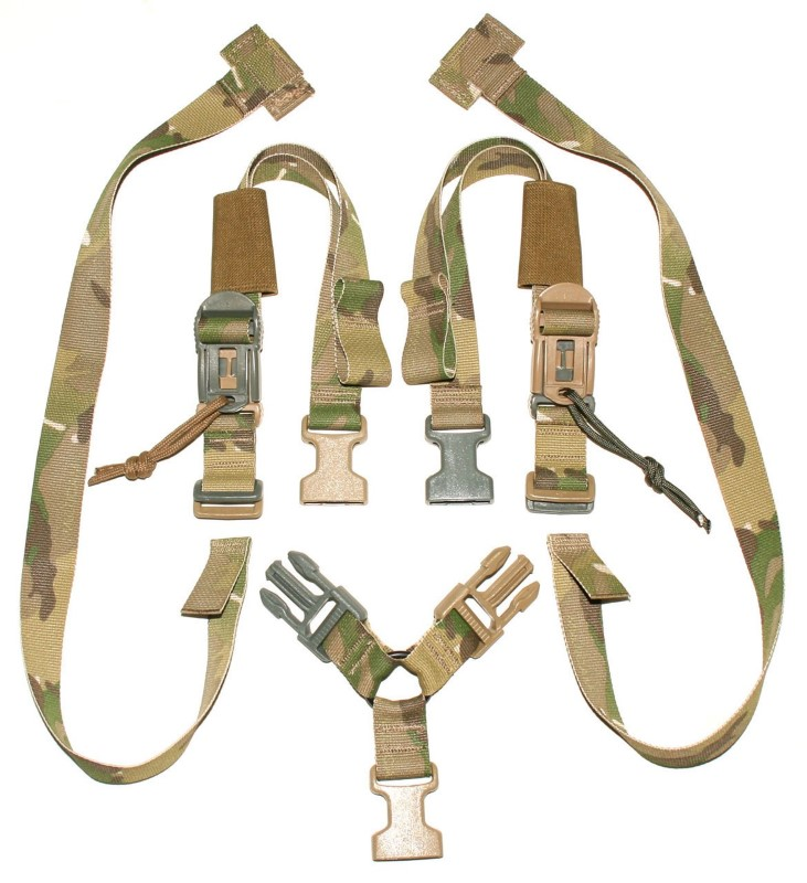 URBAN-E.R.T. Accessories DBA SIM SLING WITH BRIDGE & WEAPON CATCH ADAPTER