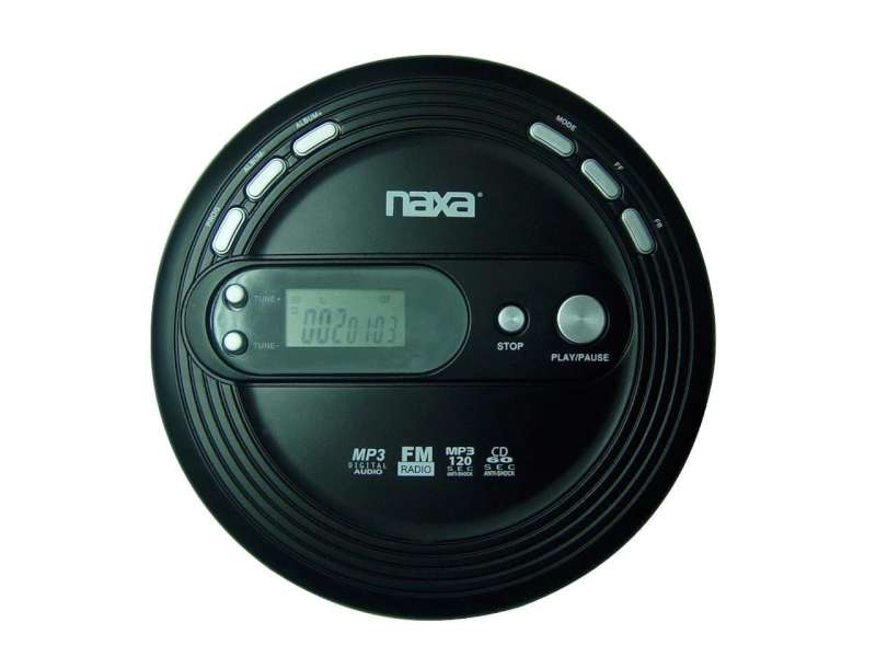 NAXA CD Player & Recorder NPC-330
