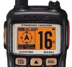 STANDARD HORIZON 2 Way Radio/Walkie Talkie HX851