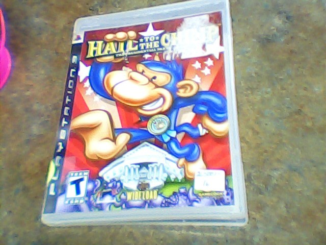 SONY Sony PlayStation 3 Game HAIL TO THE CHIMP
