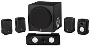 YAMAHA Speakers NS-SP1800BL