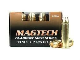 MAGTECH Ammunition GUARDIAN GOLD 38 SPL +P