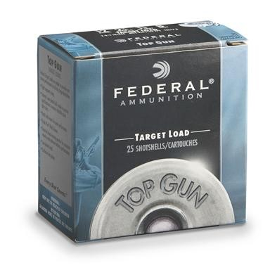 FEDERAL AMMUNITION Ammunition 12 GAUGE TARGET LOAD (TGL12 8)