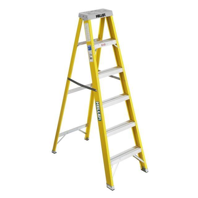 KELLER LADDER Ladder D300.773 4' STEP LADDER