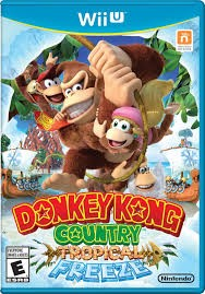 NINTENDO Nintendo Wii U Game DONKEY KONG COUNTRY TROPICAL FREEZE