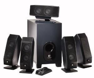 LOGITECH Home Media System X-540 SURROUND SOUND SYSTEM