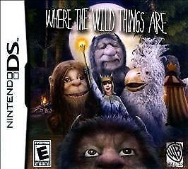 NINTENDO Nintendo DS Game WHERE THE WILD THINGS ARE