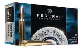FEDERAL AMMUNITION Ammunition .308 WIN 150 GR SP - POWER SHOK