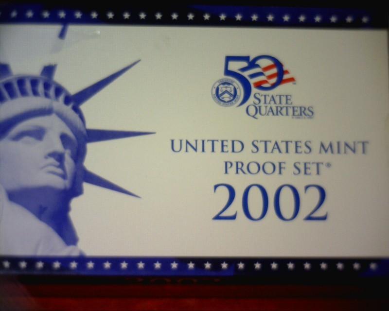UNITED STATES Proof Set 2002 US MINT PROOF SET
