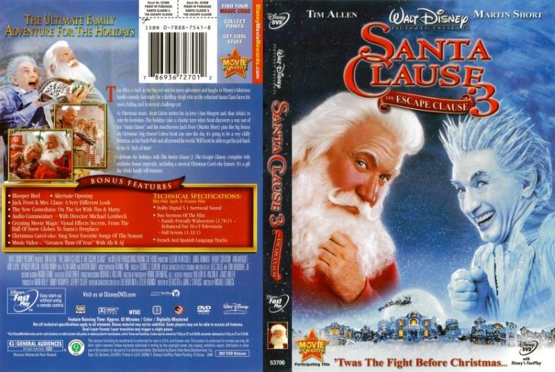 DVD MOVIE DVD SANTA CLAUSE 3