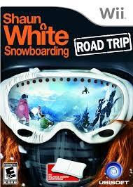 NINTENDO Nintendo Wii Game WII SHAUN WHITE SNOWBOARD ROAD TRIP