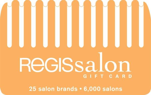 $40 REGIS SALON GIFT CARD