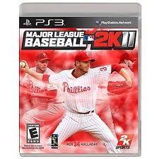 SONY Sony PlayStation 3 Game MAJOR LEAGUE BASEBALL 2K11 PS3
