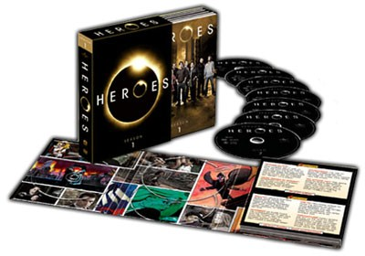 DVD BOX SET DVD HEROES SEASON 1