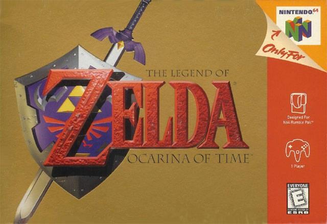 NINTENDO Nintendo 64 Game THE LEGEND OF ZELDA OCARINA OF TIME N64