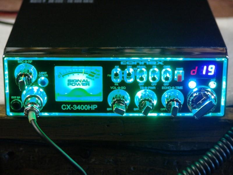 CONNEX AUDIO 2 Way Radio/Walkie Talkie CX-3400HP