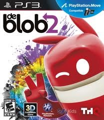 SONY Sony PlayStation 3 Game PS3 DE BLOB 2