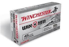 WINCHESTER Ammunition WIN 1911 45 ACP