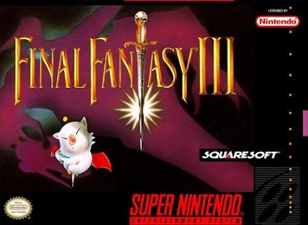 NINTENDO Nintendo SNES Game FINAL FANTASY III SNES