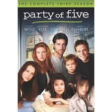 DVD BOX SET DVD PARTY OF FIVE THE COMPLETE THIRD SEASON