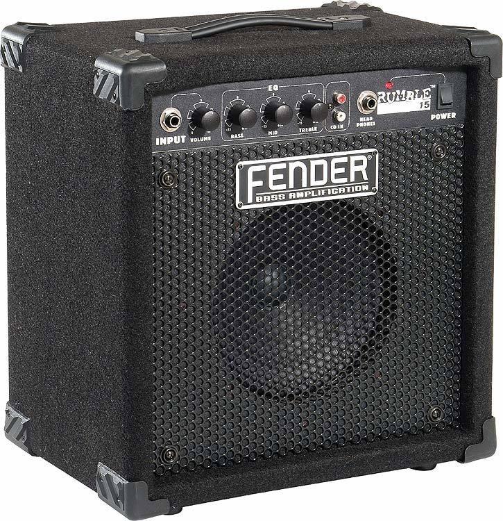FENDER Bass Guitar Amp RUMBLE 15