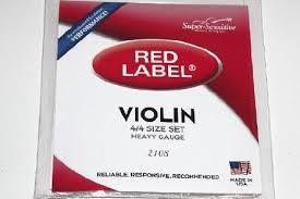 RED LABEL Violin 2108 4/4 VIOLIN STRINGS